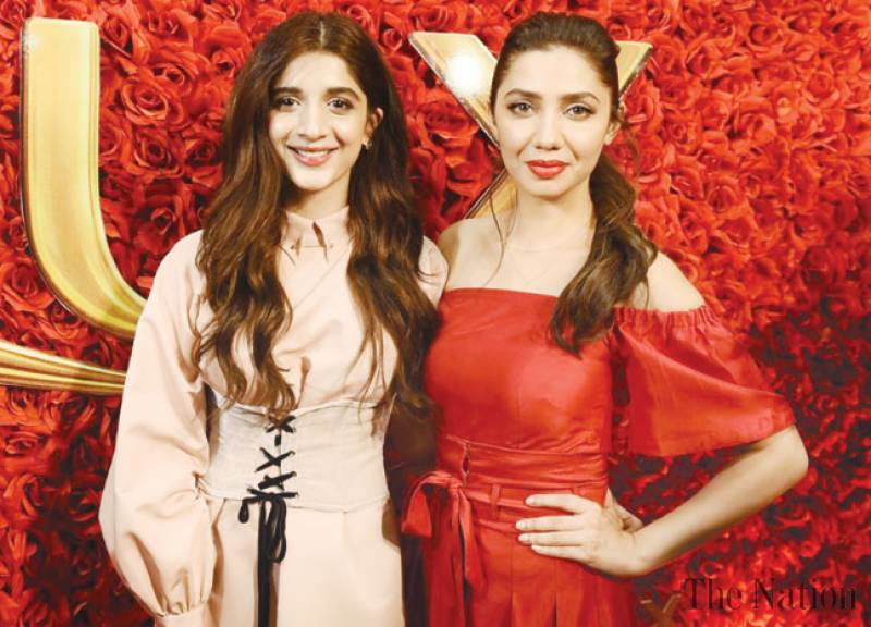 Mahira Khan and Mawra Hocane