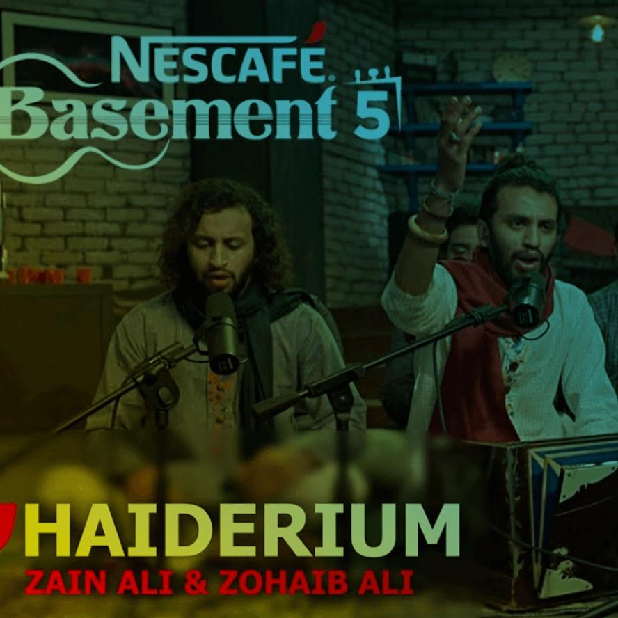 Zain Ali & Zohaib Ali for Ali Haiderium